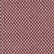 Pondicherry by French General - 5287 - Diamond Geometric on Burgundy - 13786 15 - Cotton Fabric